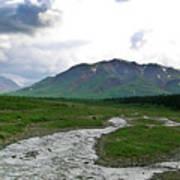 Alaska Denali National Park Landscape 1 Art Print