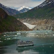 Alaska Endicott Glacier Art Print