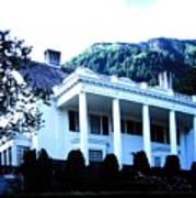 Alaska Governors Mansion Art Print