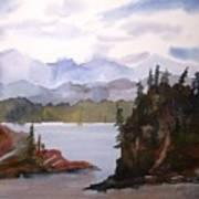 Alaska Inside Passage Art Print