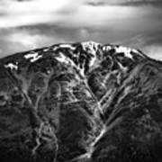 Alaska Mountain Range Art Print