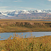 Alaska Range Art Print