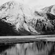 Alaska Reflection Art Print