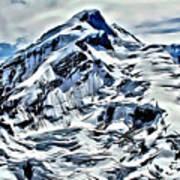 Alaska Volcano Art Print