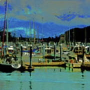 Alaskan Harbor 7 Art Print