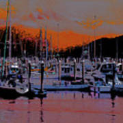 Alaskan Harbor 8 Art Print