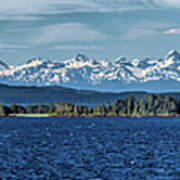 Alaskan Mountain Panorama Art Print