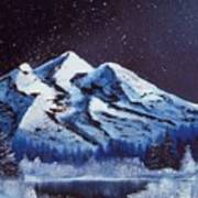 Alaskan Night Art Print