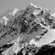 Alaskan Peak Art Print