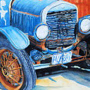 Alaskan Rust II - Model T '27 Art Print