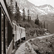 Alaskan Train Print by Will Edwards