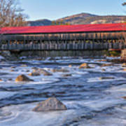 Albany Covered Bridge-white Mountains Of New Hampshire Art Print