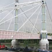 Albert Bridge Art Print
