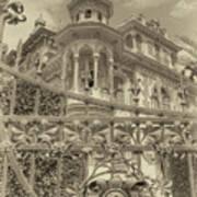 Albert Chamas Villa Art Print