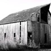 Albert City Barn 3 Art Print