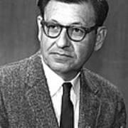Albert Ghiorso, American Nuclear Chemist Art Print