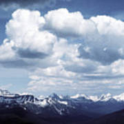 Alberta Mountain Panorama Art Print