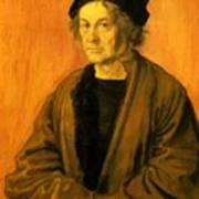 Albrecht Durer Father 1497 Art Print