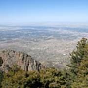 Albuquerque And The Rio Grande Art Print