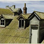 Alcaltraz Roofline Art Print