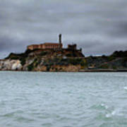 Alcatraz Storm Art Print