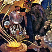 Alchemist 1912 Art Print