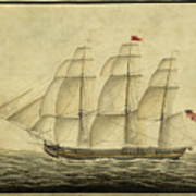 Alcono Sailing Vessel Art Print
