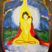 Alder Meditation Art Print