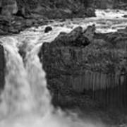 Aldeyjarfoss Waterfall Iceland 3353 Art Print