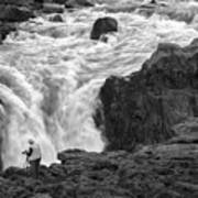 Aldeyjarfoss Waterfall Iceland 3381 Art Print