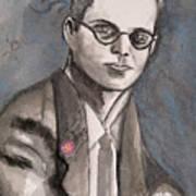 Aldous Huxley Art Print