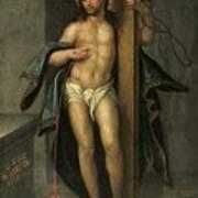 Alegoria De La Redencion De Cristo Art Print