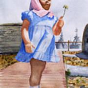 Alene June 14 1949 Art Print