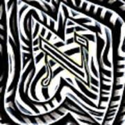 Aleph Art Print