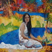 Alesya Art Print