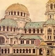 Alexander Nevsky Cathedral Art Print