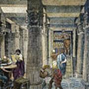 Alexandria: Library Art Print