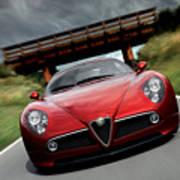 Alfa Romeo 8c Competizione Art Print