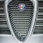Alfa-romeo Grille Emblem Art Print