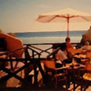Algarve Beach Bar Art Print