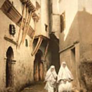 Algeria: Street Scene, C1899 Art Print