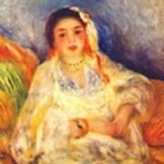 Algerian Woman Seated 1882 Art Print
