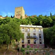 Alhambra Environs Art Print