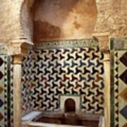 Alhambra Palace Baths Art Print