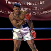 Ali - More Than A Champion Art Print by Reggie Duffie