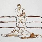 Ali Knockout Art Print