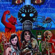 Alice Cooper Nightmare Art Print