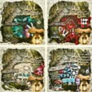 Alice Of Wonderland Series Art Print
