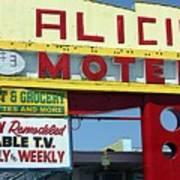 Alicia Motel Las Vegas Art Print