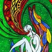 Alien Angel Art Print